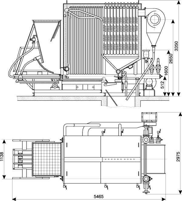 Котел водогрейный КВм-2,5КБ (Гефест-2,5-95Шп)