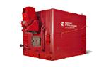 - Котлы стальные водогрейные с питателем топлива серии КВм от 0,93 до 1,74 МВт