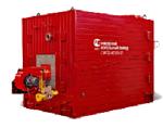 -Котлы стальные водогрейные для сжигания газа и жидкого топлива серии КВа от 0,3 до 2,5 МВт