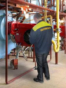 комплекс работ по монтажу котлов и котельно-вспомогательного оборудования